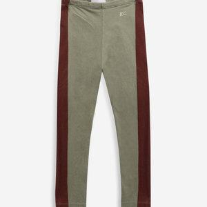 BOBO CHOSES Bobo Choses Maroon stripes leggings
