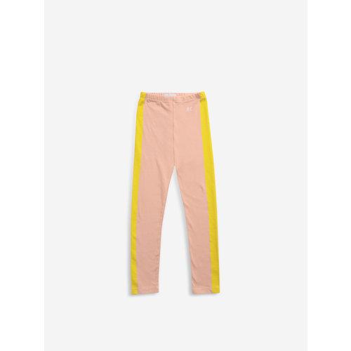 BOBO CHOSES Bobo Choses Yellow stripes leggings
