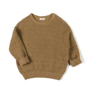 Nixnut NIXNUT  Tur knit sweater - toffee