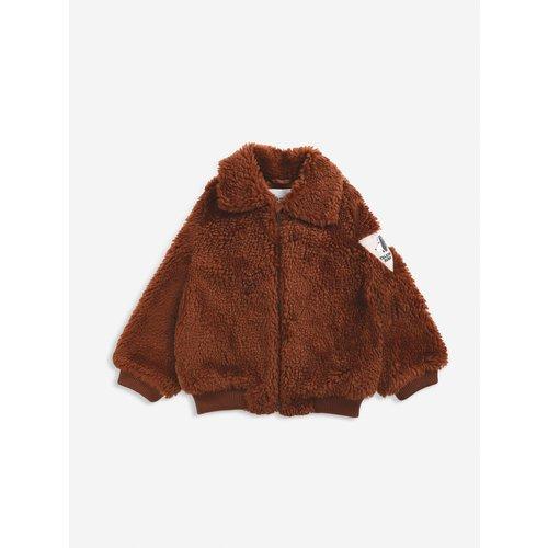 BOBO CHOSES Bobo Choses - Doggie Patch sheepskin jacket