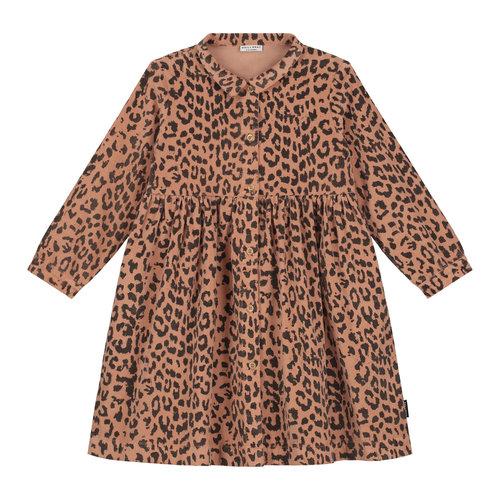 Daily Brat Daily Brat - Brooke leopard corduroy dress hazel
