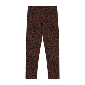 Daily Brat Daily Brat - Leopard pants hickory brown