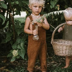 The Simple Folk The Simple Folk - The Wild and Free Dungaree- Rust