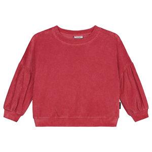 Daily Brat Daily Brat - Marant velours sweater - Dazzle Berry