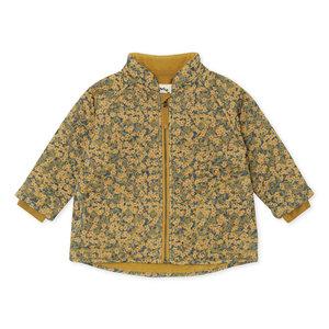 Konges Sløjd Konges Sløjd - thermo jacket - winter leaves mustard