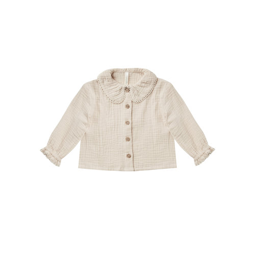 Rylee and Cru Rylee and Cru - Oversized collar blouse - Stone
