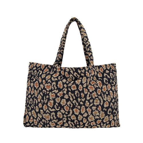 Daily Brat Daily Brat - Lucky leopard jacquard bag