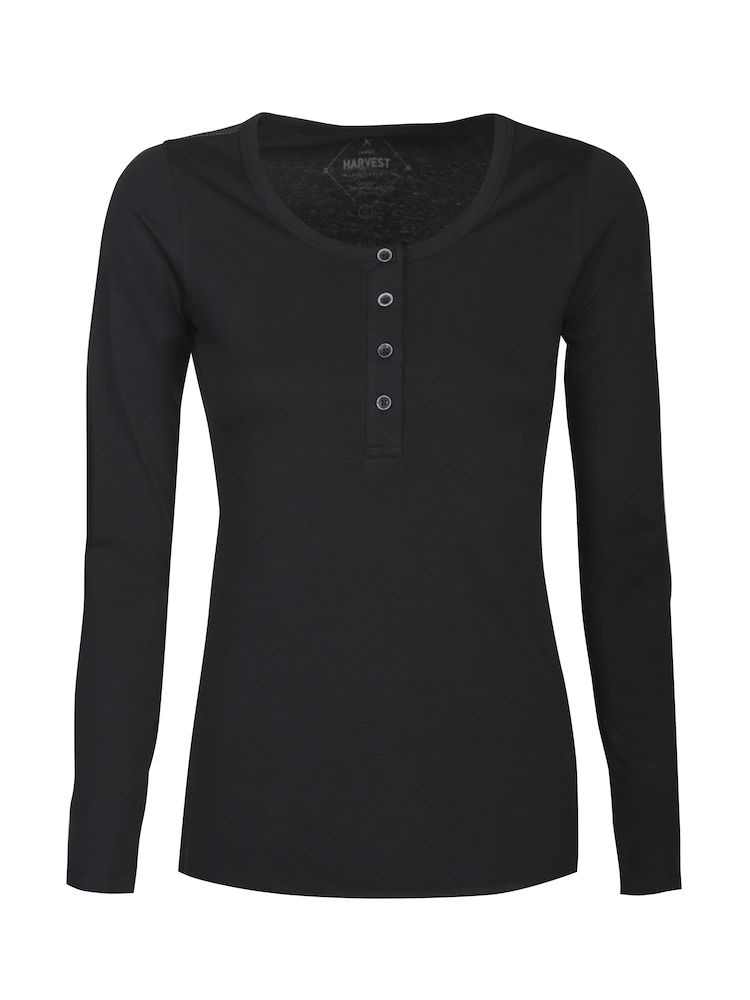 James Harvest Sportswear Stoneton Dames T-Shirt Lange Mouwen