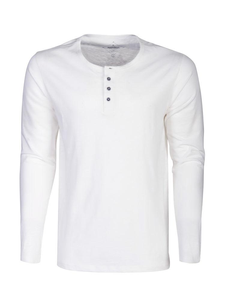James Harvest Sportswear Stoneton Heren T-Shirt Lange Mouwen