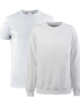 Printer Active Wear T-shirt + Sweater combo Printer