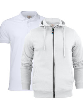 Printer Active Wear Polo + Hoodie Combo Printer