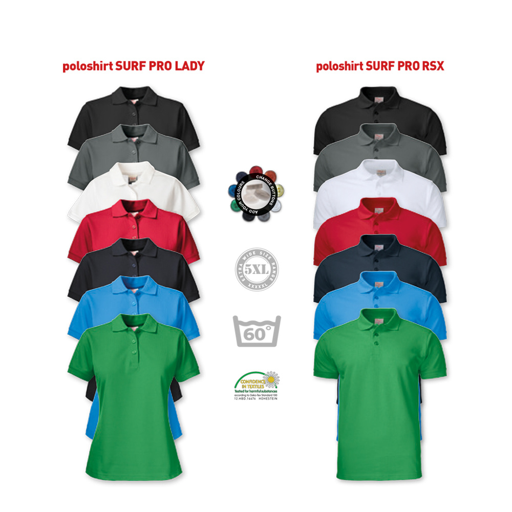 Printer Active Wear Printer Polo & Hoodie Combo (5x polo + 3x hoodie)