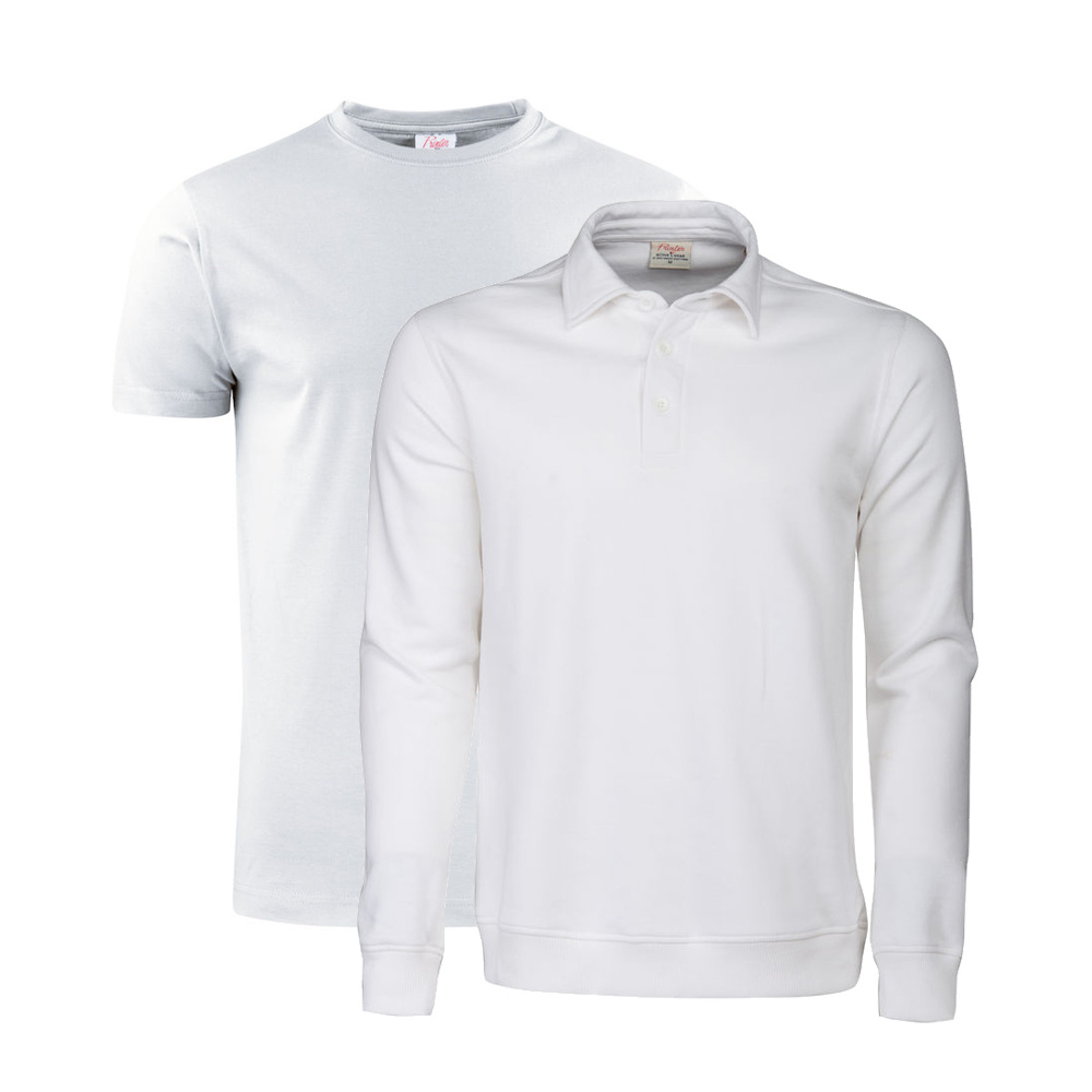 Printer Active Wear Printer T-Shirt & Polosweater Combo (5x t-shirt + 3x polosweater)