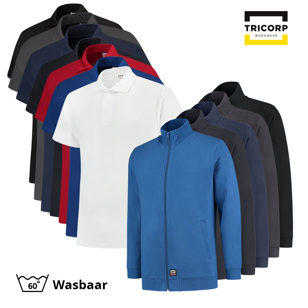Tricorp Workwear Tricorp Polo Combo (5x polo + 3x sweatvest)
