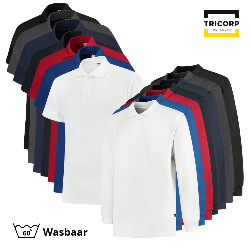 Tricorp Workwear Tricorp Polo Combo (5x polo + 3x polosweater)