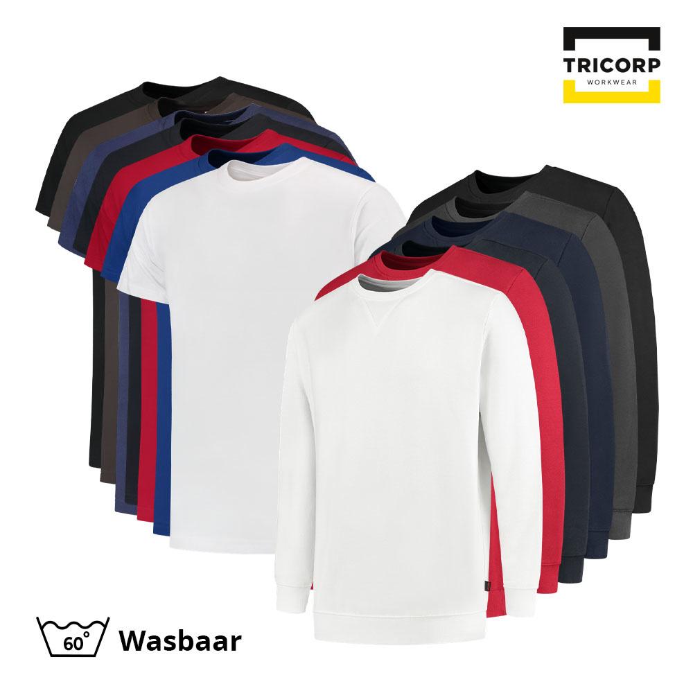 Tricorp Workwear Tricorp T-Shirt & Sweater Combo (5x t-shirt + 3x sweater)