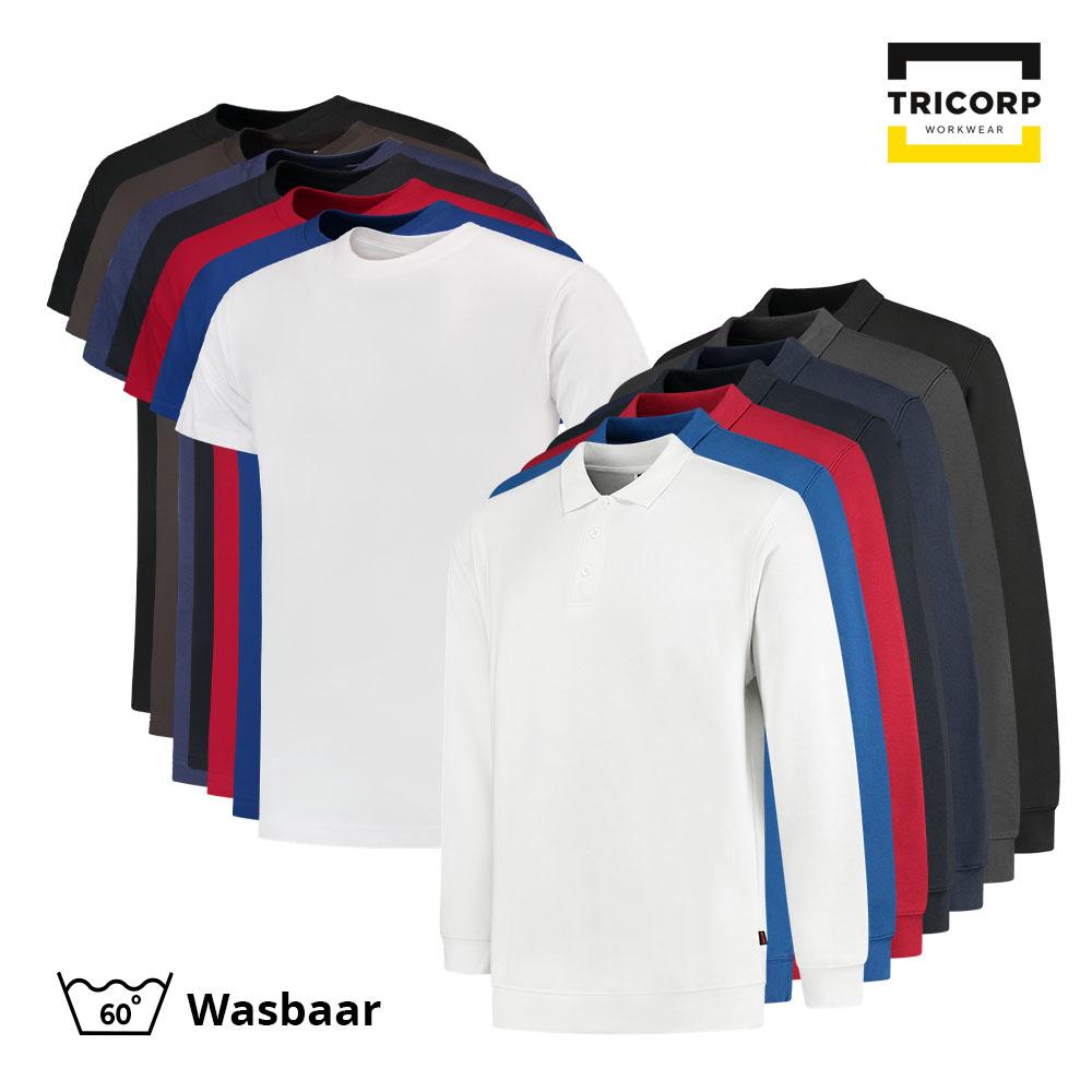 Tricorp Workwear Tricorp T-Shirt & Polosweater Combo (5x t-shirt + 3x polosweater)