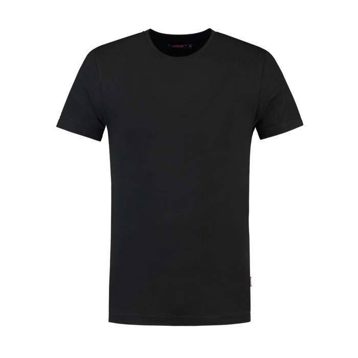 Tricorp Workwear T-shirt slim fit, ronde hals Zwart
