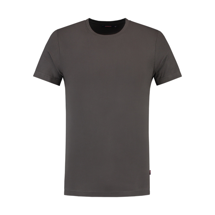 Tricorp Workwear T-shirt slim fit, ronde hals Donkergrijs