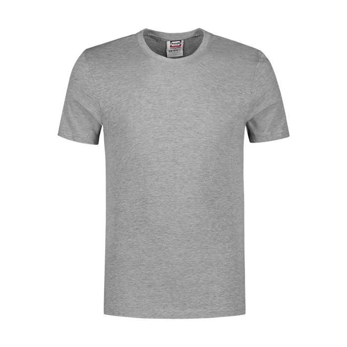 Tricorp Workwear T-shirt slim fit, ronde hals lichtgrijs
