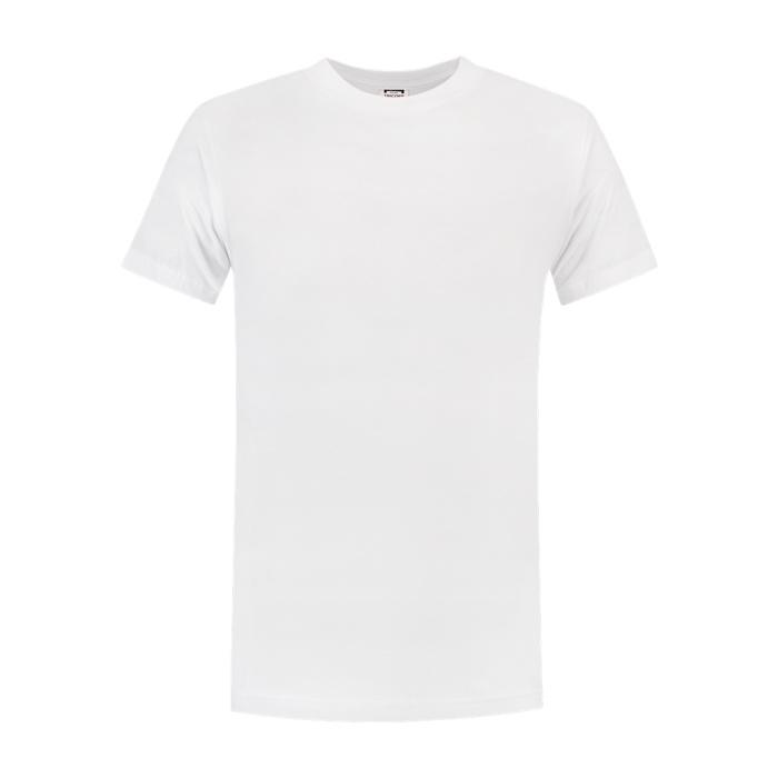 Tricorp Workwear T-shirt regular fit, ronde hals Wit