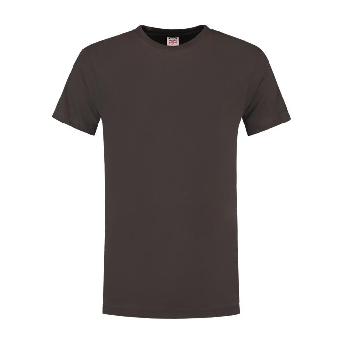 Tricorp Workwear T-shirt regular fit, ronde hals Donkergrijs