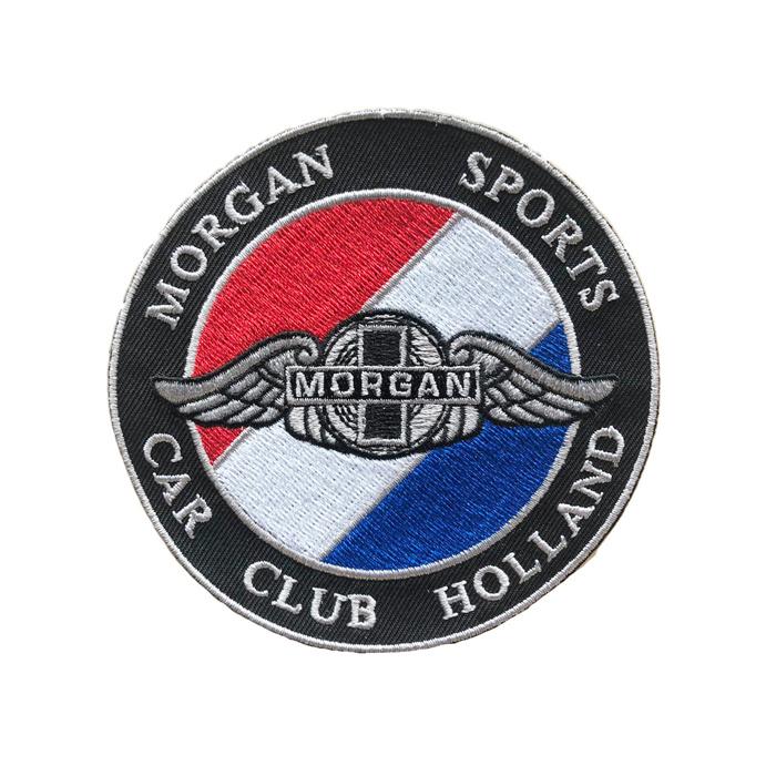 De Werf Geborduurd embleem, Morgan Sports Car Club