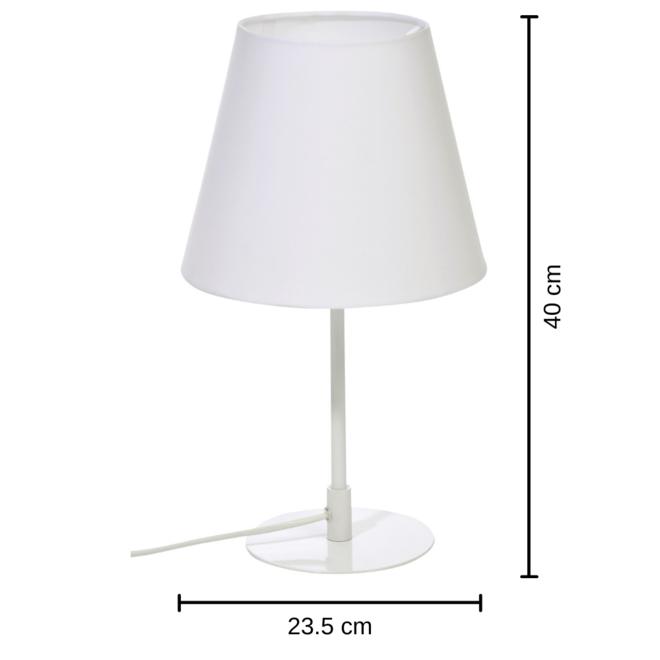 Tafellamp Modern Wit Metaal