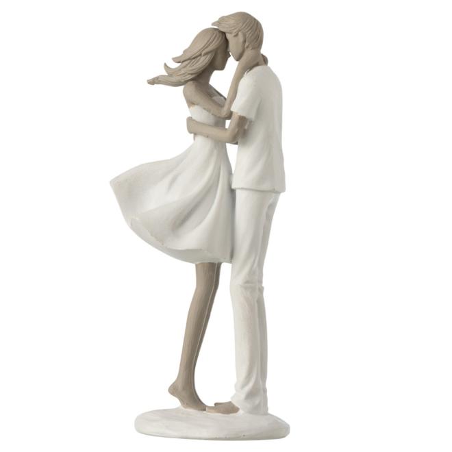 Beeld Koppel Liefde Man Vrouw 24.5 cm