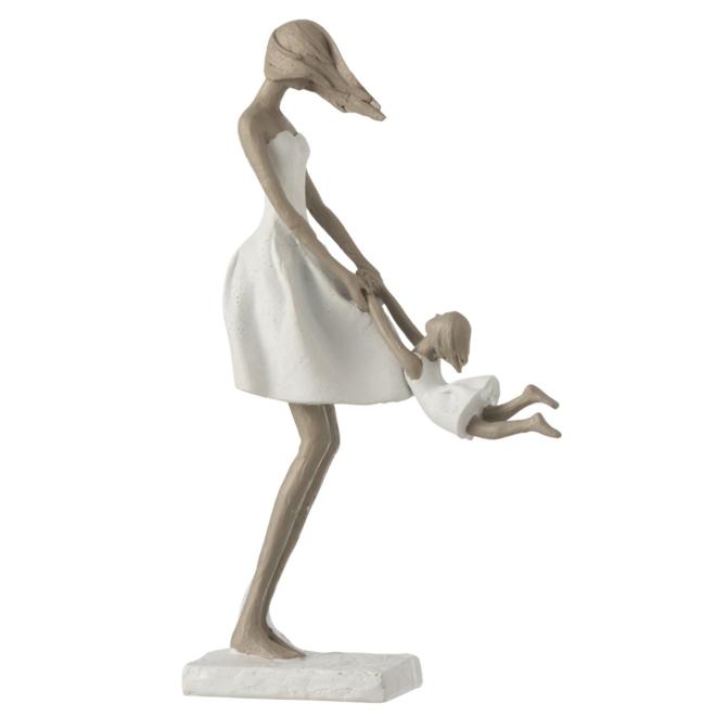 Beeld Moeder En Dochter 31.5 cm