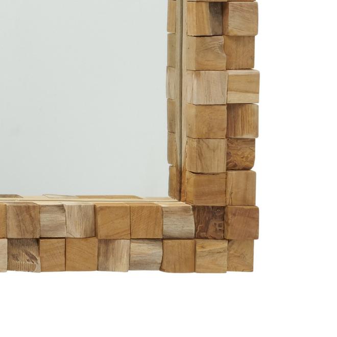 Wandspiegel Hout Rechthoekig Groot 85 cm