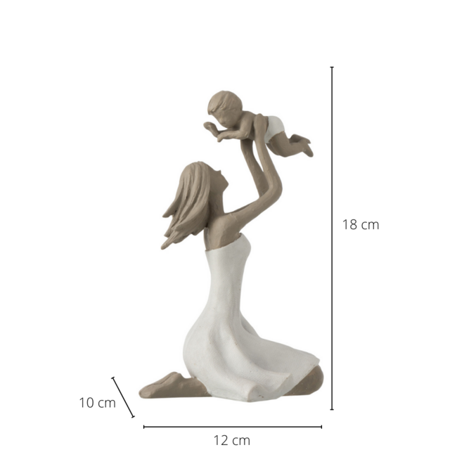 Beeld Moeder En Baby 18 cm