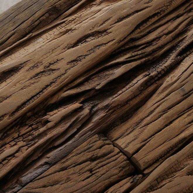 Salontafel Hout Metaal Industrieel 110 cm