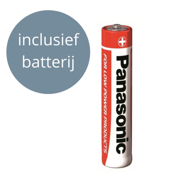 Wandklok Hout Zilver Landelijk Ø 40 cm - incl. batterij