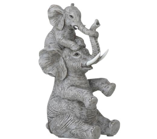 Het mooiste olifanten beeld