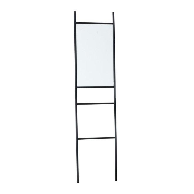 Staande Spiegel Zwart 171x43 cm