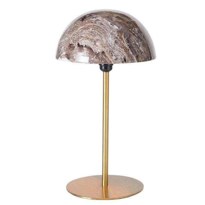 Tafellamp Marmer Goud 47 cm