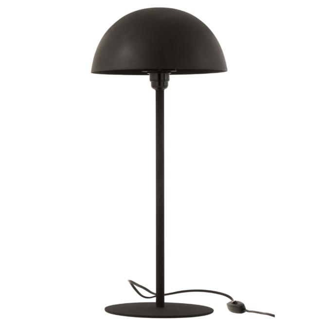 Tafellamp Zwart Paddenstoel Modern 59 cm