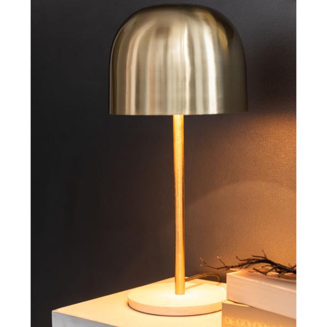Tafellamp Design Goud 49 cm