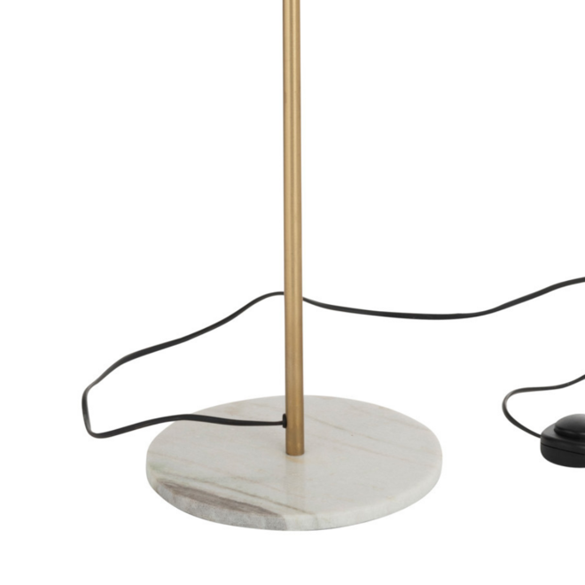 Staande Lamp Design Goud 150 cm