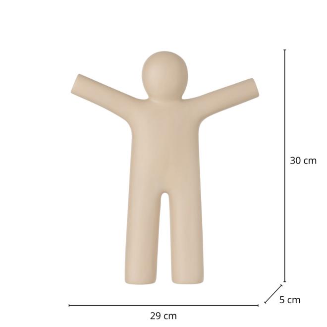 Beeld Man Beige Modern 30 cm