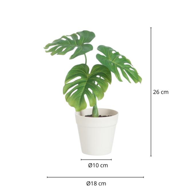 Kunstplantje In Pot 26 cm