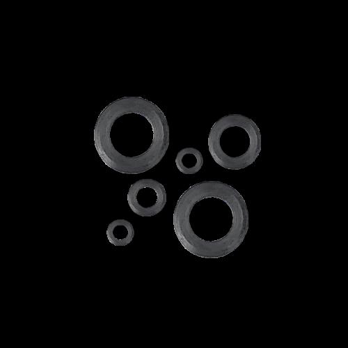 KING Microschroeven Modelbouw Sluitring M3 - Gedraaid - Staal - 25 stuks