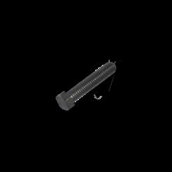 Modelbouw bout M1,2 x 8 Staal - Lage kop - 10 stuks