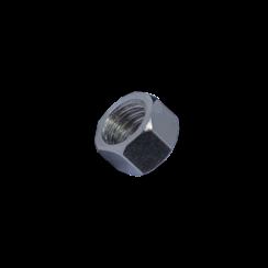Modelbouw moer M1,2 - RVS - Hoog - 10 stuks