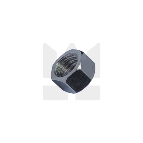KING Microschroeven Modelbouw moer M1,4 - RVS - Hoog - 10 stuks