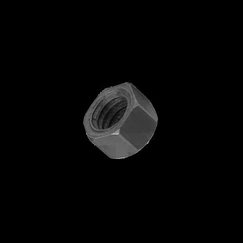 KING Microschroeven Modelbouw moer M1,2 - Staal - Hoog - 10 stuks
