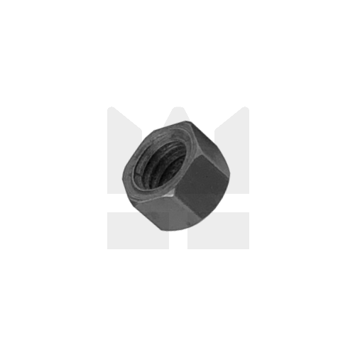 KING Microschroeven Modelbouw moer M1,4 - Staal - Hoog - 10 stuks