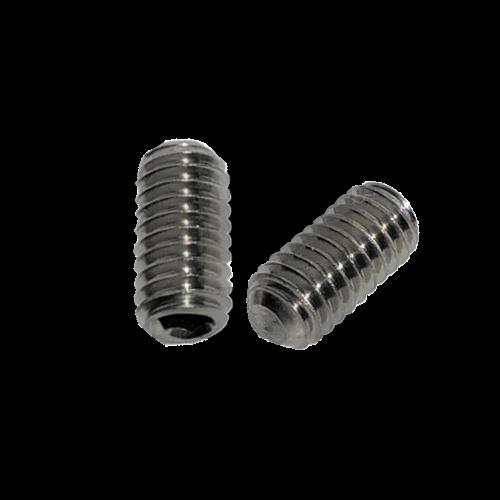 KING Microschroeven Stelschroef - DIN 916 RVS - M 4 x 10 - 25 stuks