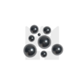 KING Microschroeven Technische kogels RVS 420 - 3/8 Inch- 25 stuks